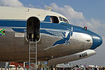 Douglas DC-4 nose detail in 'ZS-AUB' (15794131782).jpg
