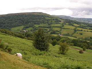 Gilwern Hill, Monmouthshire mountain in United Kingdom