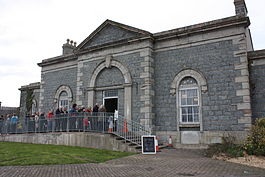 Downpatrick station, March 2011.JPG