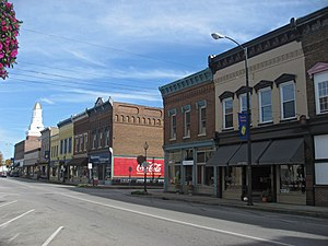 Campbellsville, Kentucky - Downtown Campbellsville