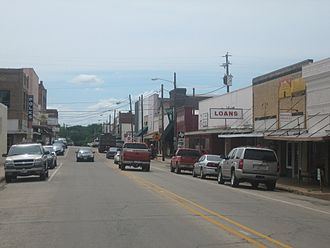 Crockett, Texas - Downtown Crockett, Texas