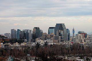 Santiago (commune) City and Commune in Santiago Metro., Chile