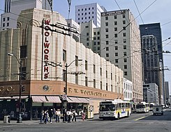 Downtown Seattle Woolworth's in 1986.jpg