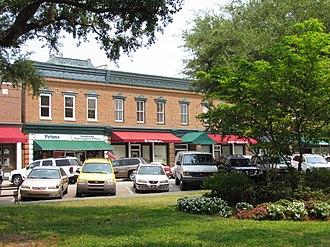 Summerville, South Carolina - Historic downtown Summerville