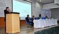 Dr. Jitendra Singh addressing an interactive seminar of north-eastern students at Jawaharlal Nehru University.jpg