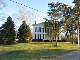 Perry Township, Delaware County, Indiana - The Samuel Jump House, a historic site in the township