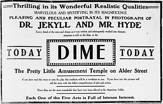 <i>Dr. Jekyll and Mr. Hyde</i> (1908 film) 1908 film by Otis Turner
