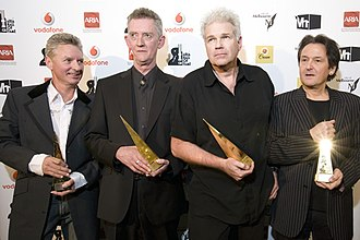 New Zealand Music Hall of Fame - 2011 inductees Dragon were also inducted into Australia's ARIA Hall of Fame in 2008.