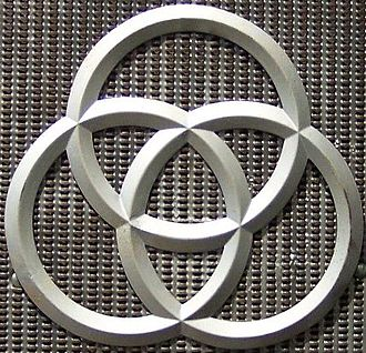 Krupp - The three rings were the symbol for Krupp, based on the Radreifen – the seamless railway tyres patented by Alfred Krupp. The rings are currently part of the ThyssenKrupp logotype.