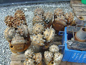 Well drilling - Image: Drill bits italy