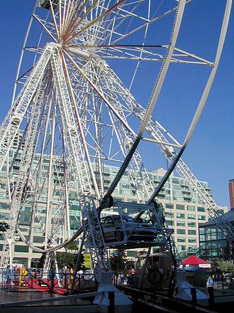 Drive-in - Drive-in Ferris wheel