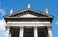 Dublin Roman Catholic St. Audoen's Church Pediment 2012 09 28.jpg