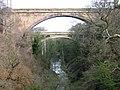 Dunglass Bridge and Viaduct - geograph.org.uk - 142476.jpg