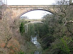 Dunglass Bridge and Viaduct - geograph.org.uk - 142476.jpg