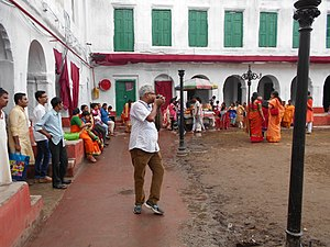 Nabakrishna Deb - Image: Durga Puja 2016 Sovabazar Rajbari 01