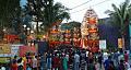 Durga Puja Pandal with Spectators - Tridhara Sammilani - Manohar Pukur Road - Kolkata 2014-10-02 9011-9014.tif