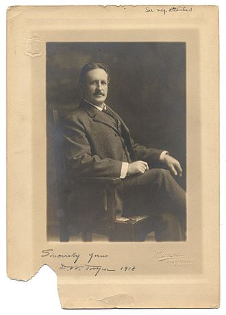 Dwight William Tryon - Tryon in 1918