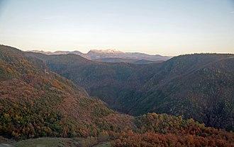Dibër County - Image: E851 Wikipedia Weekend Tirana 2015 Deja Mountain 678