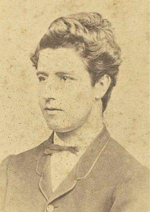 Edmund Barton - Edmund Barton aged 17