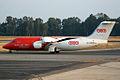 EC-LMR PAN AIR Lineas Aereas British Aerospace 146-300QT.jpg