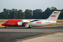 EC-LMR PAN AIR Lineas Aereas British Aerospace 146-300QT.jpg