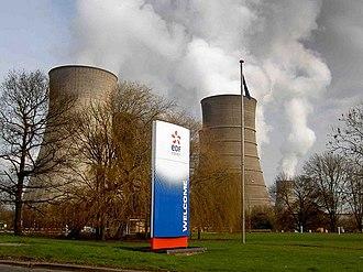 West Burton power stations - EDF branding in 2009