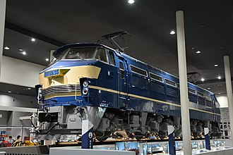 JNR Class EF66 - Image: EF66 35 Kyoto Railway Museum 20161017