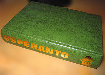 "English: Cover of the book ""Esperanto in ..."
