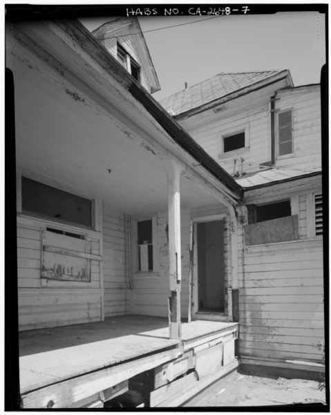 File exterior south porch detail view facing northeast - 600 exterior street bronx ny 10451 ...