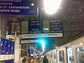 Earls Court Underground Station - destination signs - geograph.org.uk - 662907.jpg