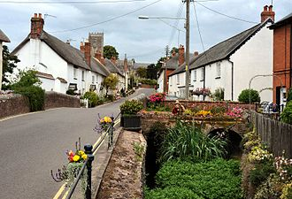 East Budleigh - Image: East Budleigh High St