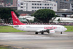 Easter Jet Boeing 737-883 HL8289 Taking off from Taipei Songshan Airport 20150321a.jpg