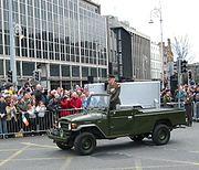 Easter Parade Officer