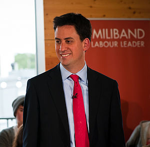 Ed Miliband - Miliband in his leadership campaign, 2010.