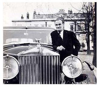 Eddie Chapman - Chapman and his Rolls-Royce