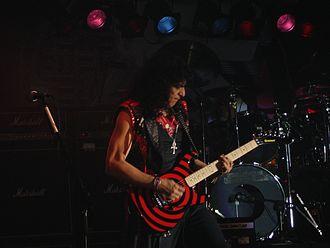 Eddie Ojeda - Ojeda performing in 2006