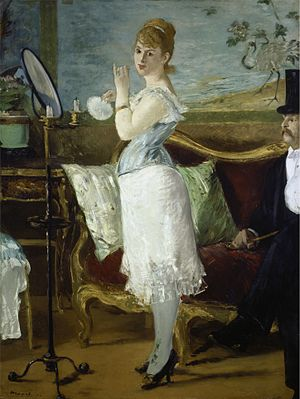 Nana (novel) - Édouard Manet, Nana, 1877