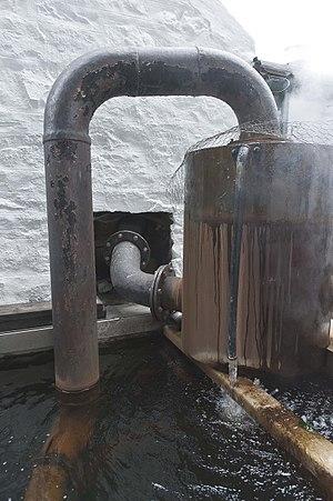 Edradour distillery - Condenser