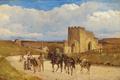 Edvard Petersen - Folkeliv ved Ponte Nomentano - 1881.png