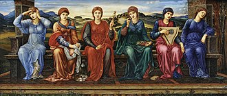 Horae - The Hours by Edward Burne-Jones (1882)