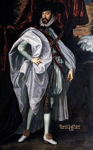 Edward Manners, 3rd Earl of Rutland - Image: Edward Manners, 3rd Earl of Rutland