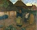 Edward Stott The Widow's Acre (1900), oil painting 74.8 x 60.1 cm Laing Art Gallery, Newcastle-upon-Tyne., ,.jpg