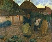 Edward Stott The Widow's Acre (1900), pintura al óleo 74,8 x 60,1 cm Laing Art Gallery, Newcastle-upon-Tyne., .Jpg