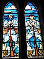 Eglise Notre-Dame de Saint-Jacut-de-la-Mer (vitrail des soldats).jpg