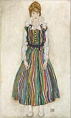 Portret van Edith (de vrouw van de kunstenaar)