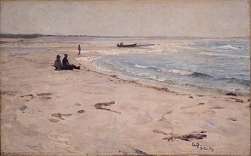 Eilif Peterssen - From the Beach at Sele - Google Art Project