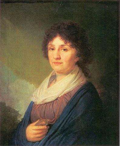 Мать генерала Раевского на портрете Боровиковского