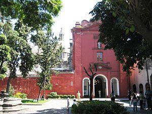 San Ángel - Ex-convent of El Carmen