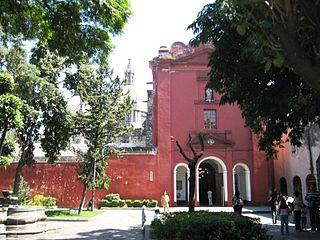 San Ángel Colonia in Mexico City, Mexico