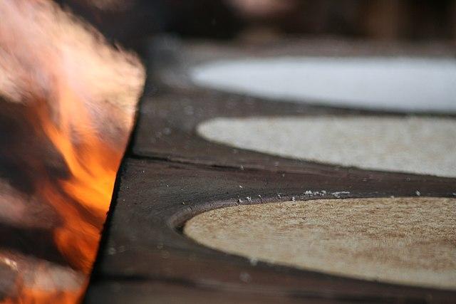 Elaboración del casabe en Casabe Gourmet, Venezuela